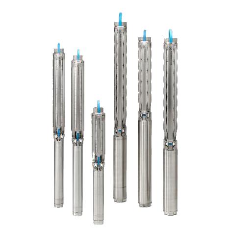 ปั๊มน้ำบาดาลสเตนเลส รุ่นSP7-12 Rp1½ 4″3X380-415/50 1.5kW