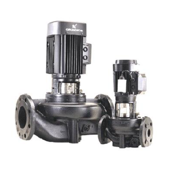 In-Line Circulator pumps รุ่นTP 40-300/2-A-F-B-BAQE 400D 50Hz IE3
