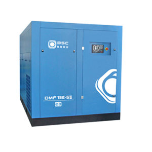 Two stage screw compressor BBS400-8D