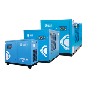 Two stage screw compressor BBS450-8D