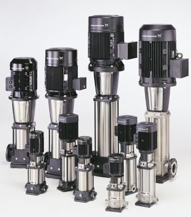 ปั๊มน้ำแรงดันสูงหลายใบพัดแนวตั้ง รุ่นCR64-6-1